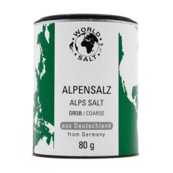Alpensalz - grob - 80g