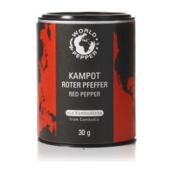 Roter Kampot Pfeffer 30 g