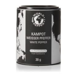 Weißer Kampot Pfeffer 30 g