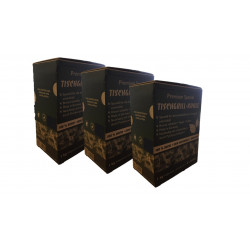 Tischgrill-Kohle 3 x 1 kg